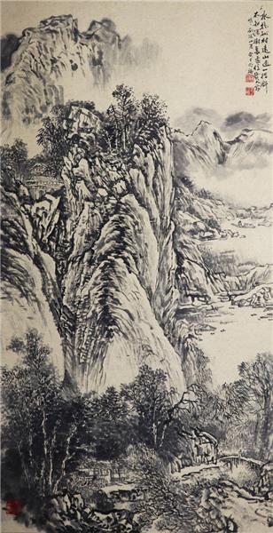 王明福 山水